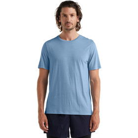 Icebreaker Sphere Maglietta a maniche corte Uomo, blu